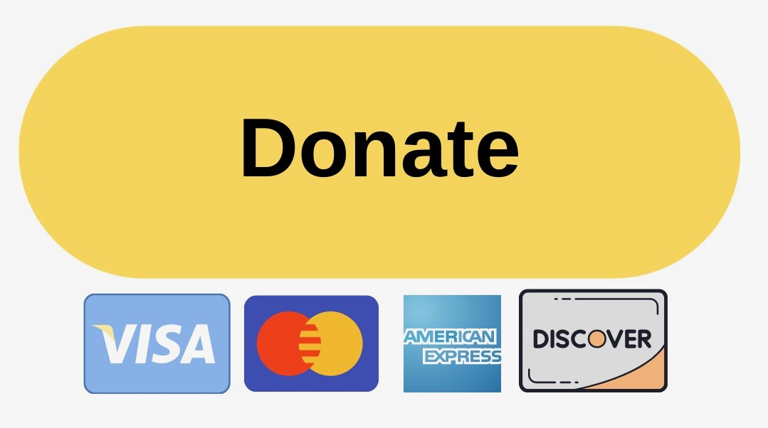 Donate Button with cards