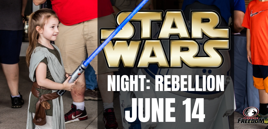 Star Wars Night Florence Freedom